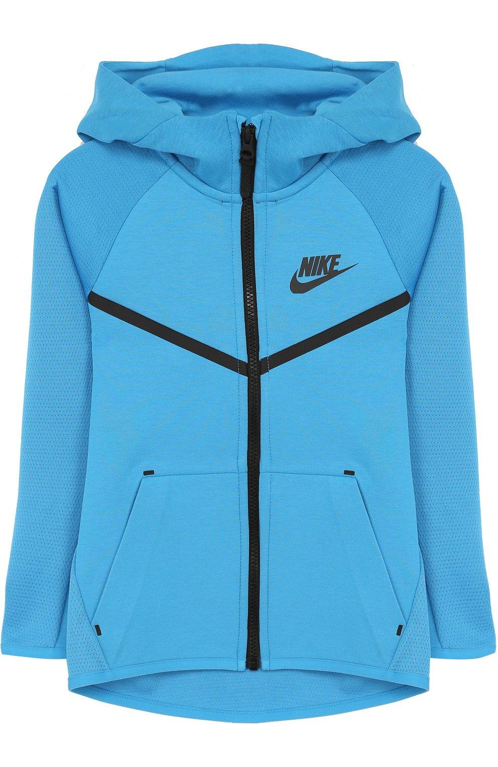 Кардиган на молнии с капюшоном Nike Sportswear Tech Fleece | Фото №1