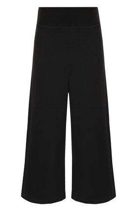 Укороченные хлопковые брюки Opening Ceremony черные | Фото №1