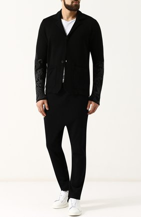 Однобортный льняной пиджак Gemma. H черный | Фото №1