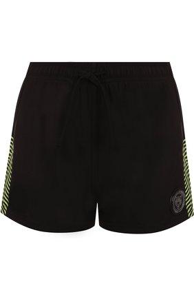 Спортивные мини-шорты с логотипом бренда | Фото №1