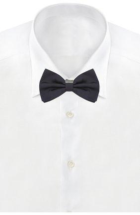 Мужской шелковый галстук-бабочка DOLCE & GABBANA темно-синего цвета, арт. GR053E/G0U05   Фото 2