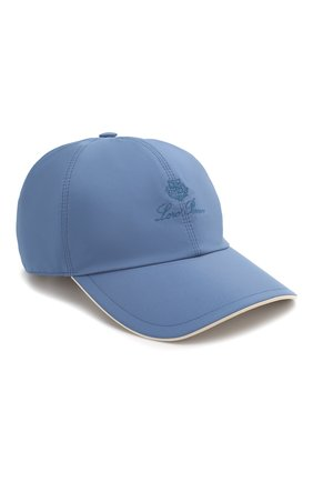 Мужской бейсболка LORO PIANA голубого цвета, арт. FAB1977 | Фото 1