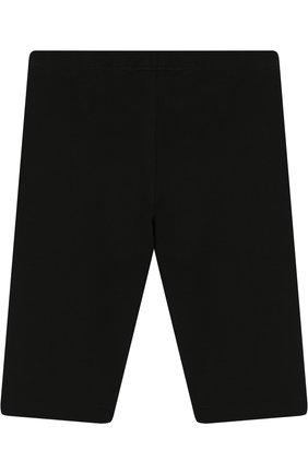 Детские хлопковые брюки EA 7 черного цвета, арт. 3ZFP51/FJ01Z | Фото 2