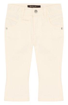 Расклешенные джинсы с фигурными карманами | Фото №1