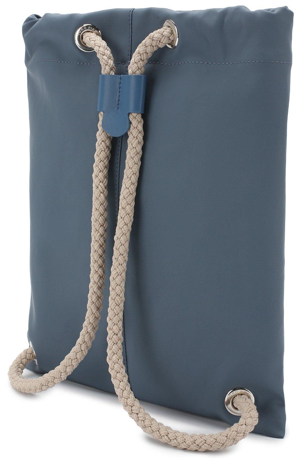 Детская текстильный рюкзак LORO PIANA голубого цвета, арт. FAI1120 | Фото 2