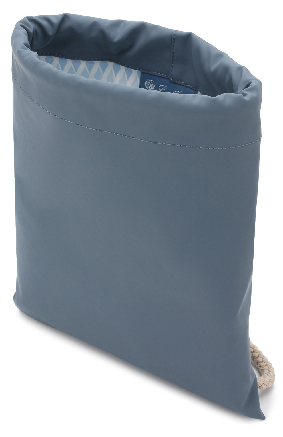 Детская текстильный рюкзак LORO PIANA голубого цвета, арт. FAI1120 | Фото 3