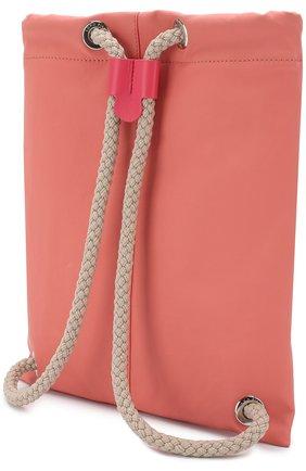 Детская текстильный рюкзак LORO PIANA розового цвета, арт. FAI1120 | Фото 2