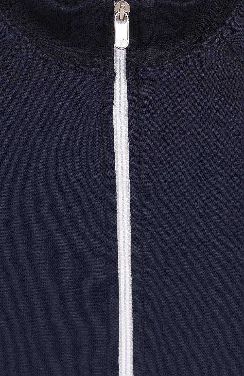 Детский хлопковый костюм из брюк и кардигана IL GUFO темно-синего цвета, арт. P18DP253M0030/12M-18M | Фото 3