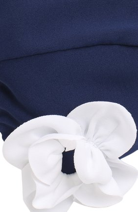 Детского шапочка для плавания с аппликацией IL GUFO синего цвета, арт. P18FF005EL100 | Фото 3