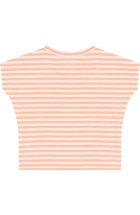 Хлопковая футболка в полоску | Фото №2