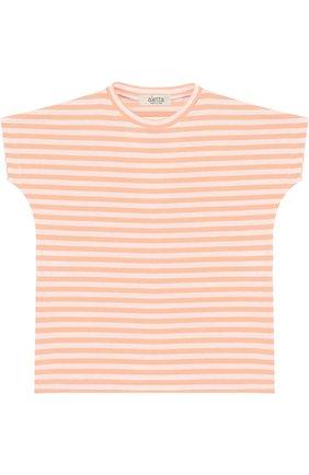 Хлопковая футболка в полоску | Фото №1
