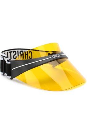 Солнцезащитный козырек Dior желтые | Фото №1