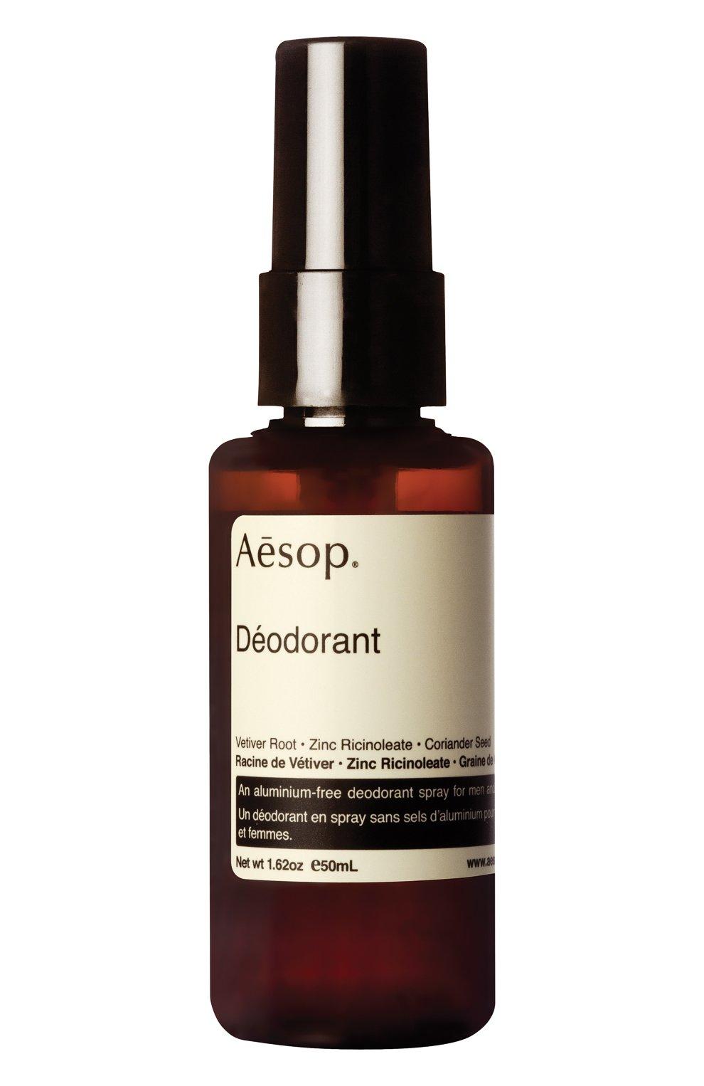 Женский дезодорант deodorant AESOP бесцветного цвета, арт. ABS14 | Фото 1