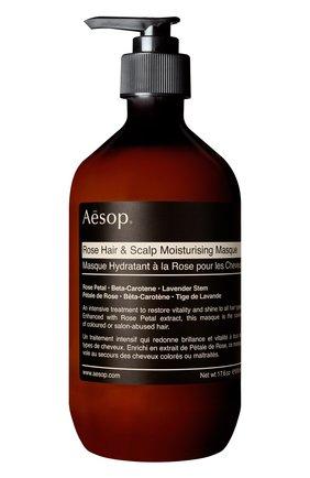 Женская маска для волос rose hair & scalp AESOP бесцветного цвета, арт. B500HR07 | Фото 1