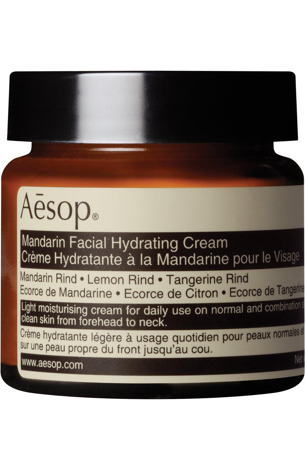 Женское крем для лица mandarin AESOP бесцветного цвета, арт. B60SK03 | Фото 1