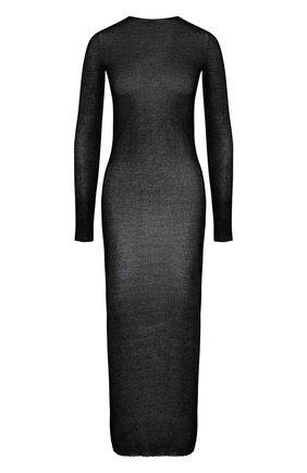 Полупрозрачное платье-футляр с длинным рукавом | Фото №1