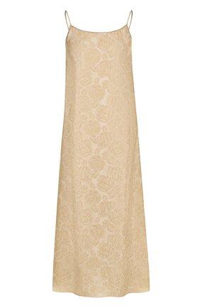 Платье-комбинация из смеси вискозы и шелка | Фото №1