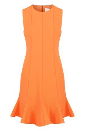 Приталенное мини-платье без рукавов | Фото №1