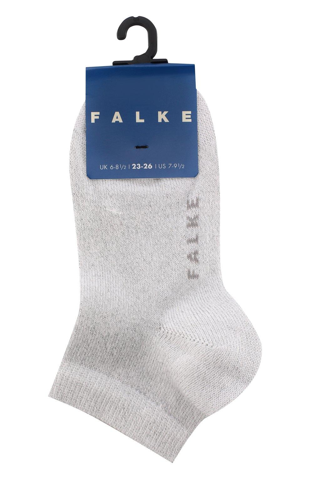 Детские укороченные носки FALKE белого цвета, арт. 12154 | Фото 1