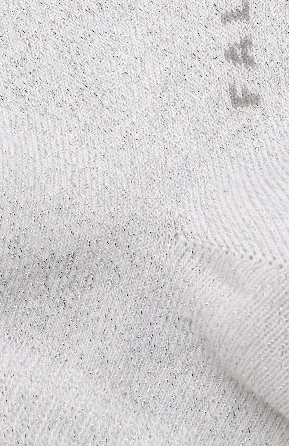 Детские укороченные носки FALKE белого цвета, арт. 12154 | Фото 2