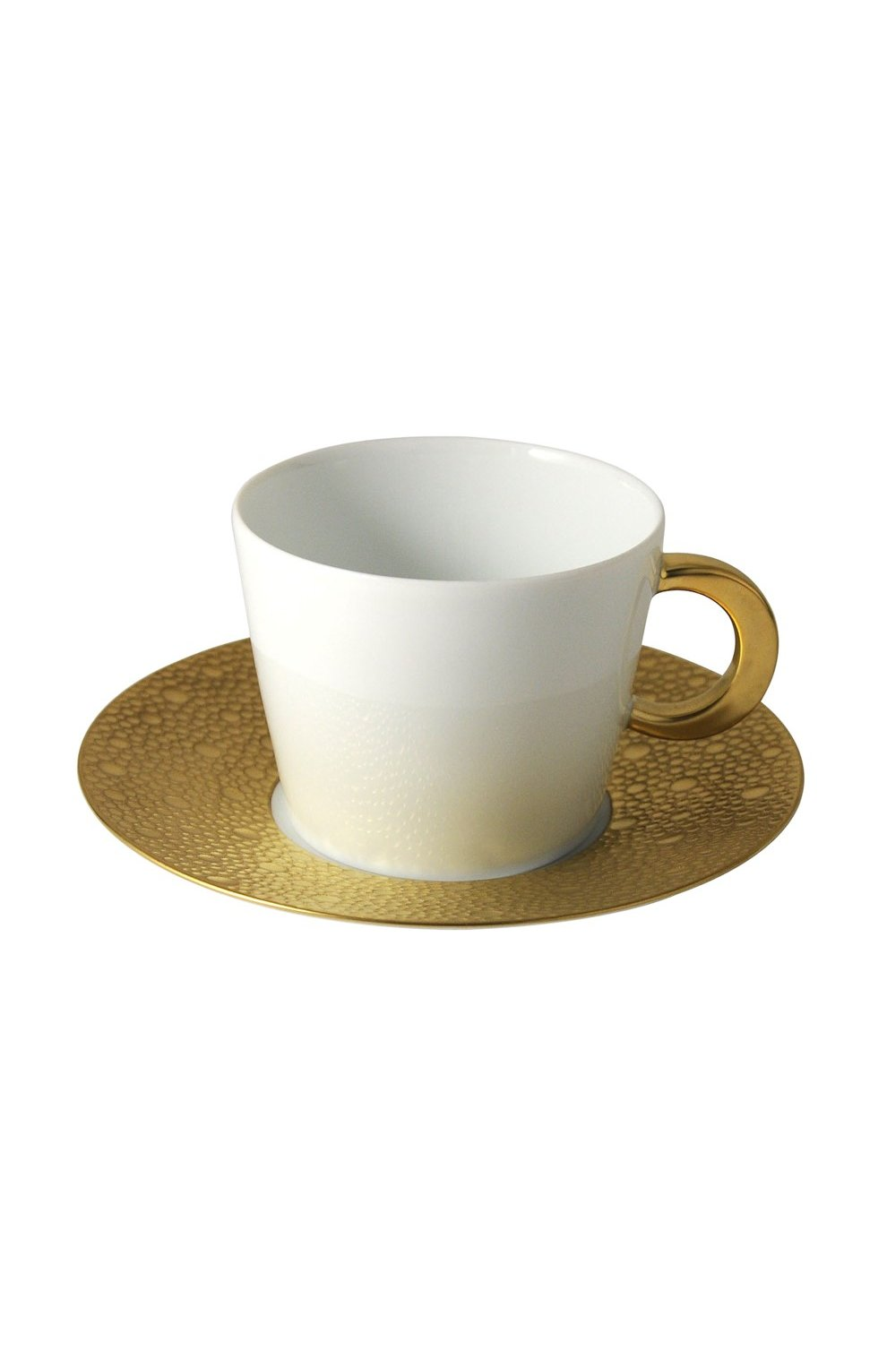 Кофейная чашка с блюдцем Ecume Or | Фото №1
