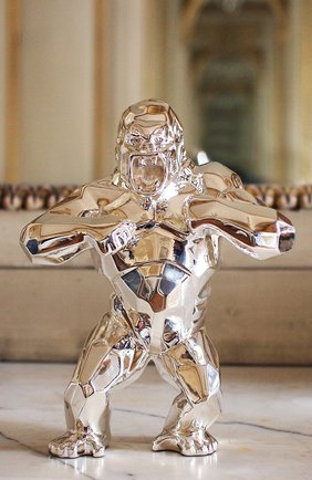Мужского скульптура king kong by richard orlinski CHRISTOFLE серебряного цвета, арт. 03570598 | Фото 2