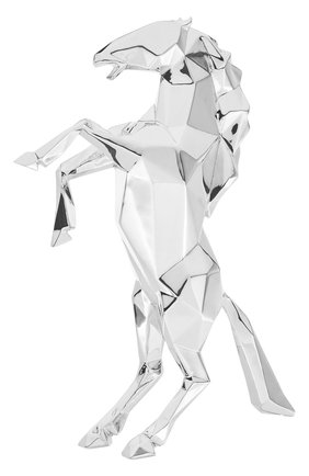 Скульптура prancing horse richard orlinski CHRISTOFLE серебряного цвета, арт. 03570599 | Фото 1