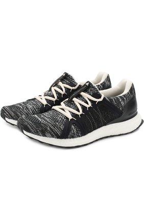 Текстильные кроссовки UltraBOOST Parley на шнуровке   Фото №1