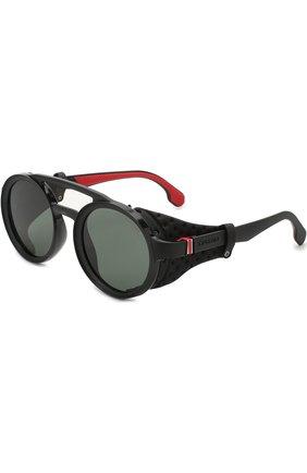 Мужские солнцезащитные очки CARRERA черного цвета, арт. CARRERA 5046 807 | Фото 1