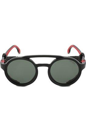 Мужские солнцезащитные очки CARRERA черного цвета, арт. CARRERA 5046 807 | Фото 2