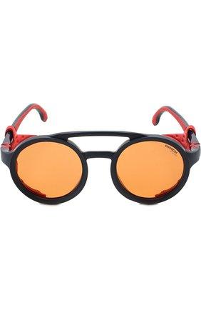 Мужские солнцезащитные очки CARRERA красного цвета, арт. CARRERA 5046 FLL   Фото 2 (Статус проверки: Проверена категория; Тип очков: С/з)