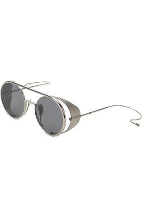 Солнцезащитные очки Dita серебряные   Фото №1