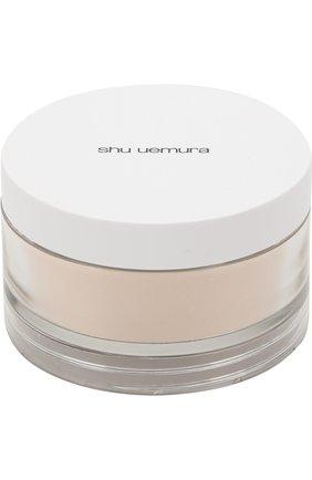Женская рассыпчатая пудра face powder, оттенок m colorless SHU UEMURA бесцветного цвета, арт. 4935421617222   Фото 1