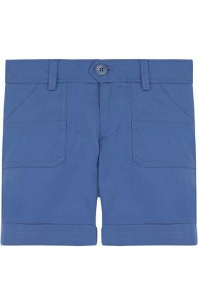 Хлопковые шорты с отворотами | Фото №1