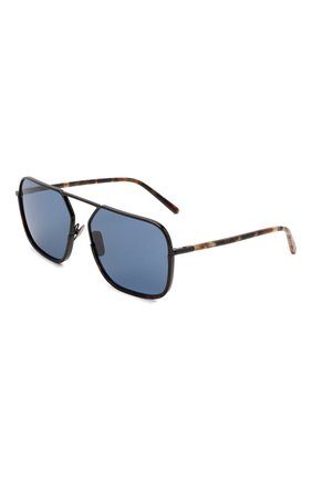 Мужские солнцезащитные очки DOLCE & GABBANA синего цвета, арт. 2193J-01/80 | Фото 1