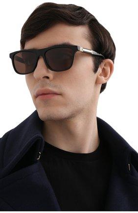 Мужские солнцезащитные очки ZILLI черного цвета, арт. MIP-65010-00ACE/0001 | Фото 2