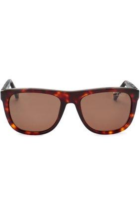 Мужские солнцезащитные очки ZILLI темно-коричневого цвета, арт. MIP-65004-00ACE/0001 | Фото 2