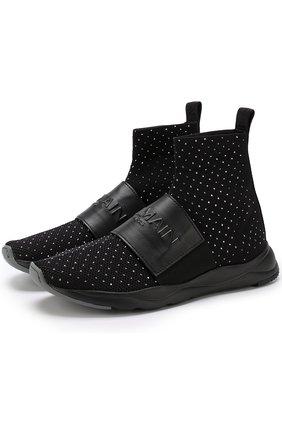 Текстильные кроссовки Cameron с логотипом бренда | Фото №1
