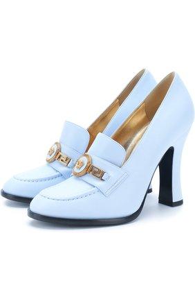 Кожаные туфли Tribute на устойчивом каблуке   Фото №1