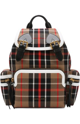 Рюкзак Rucksack с кожаной отделкой | Фото №1