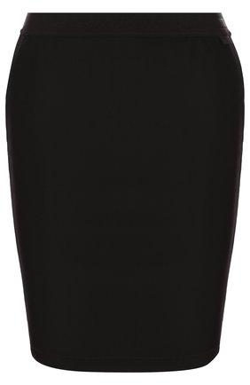 Мини-юбка с контрастной отделкой | Фото №1