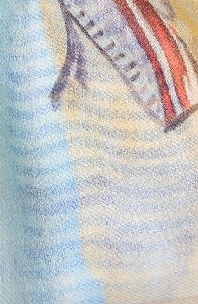 Женская шарф lighthouse bay из смеси кашемира и шелка LORO PIANA разноцветного цвета, арт. FAI1471   Фото 2