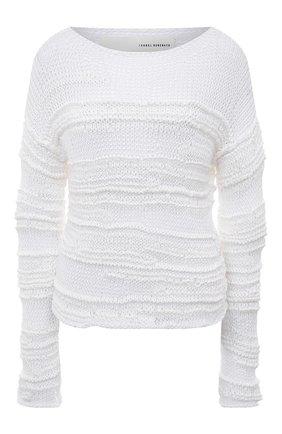 Пуловер фактурной вязки из хлопка | Фото №1