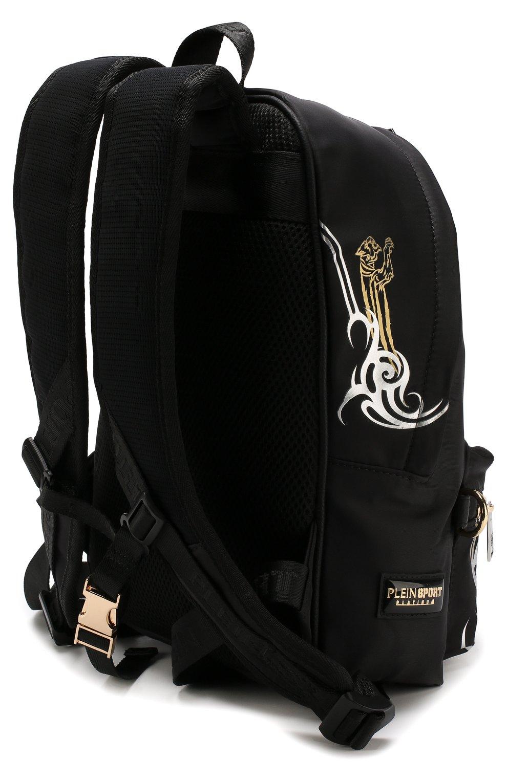 Текстильный рюкзак с принтом | Фото №3