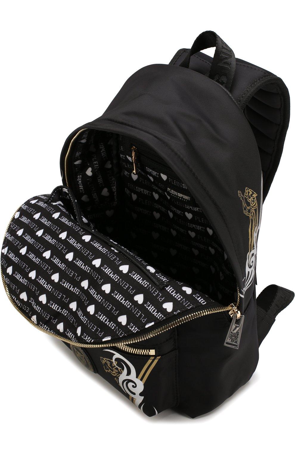 Текстильный рюкзак с принтом | Фото №4