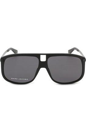 Мужские солнцезащитные очки MARC JACOBS (THE) черного цвета, арт. MARC 243 003 | Фото 2