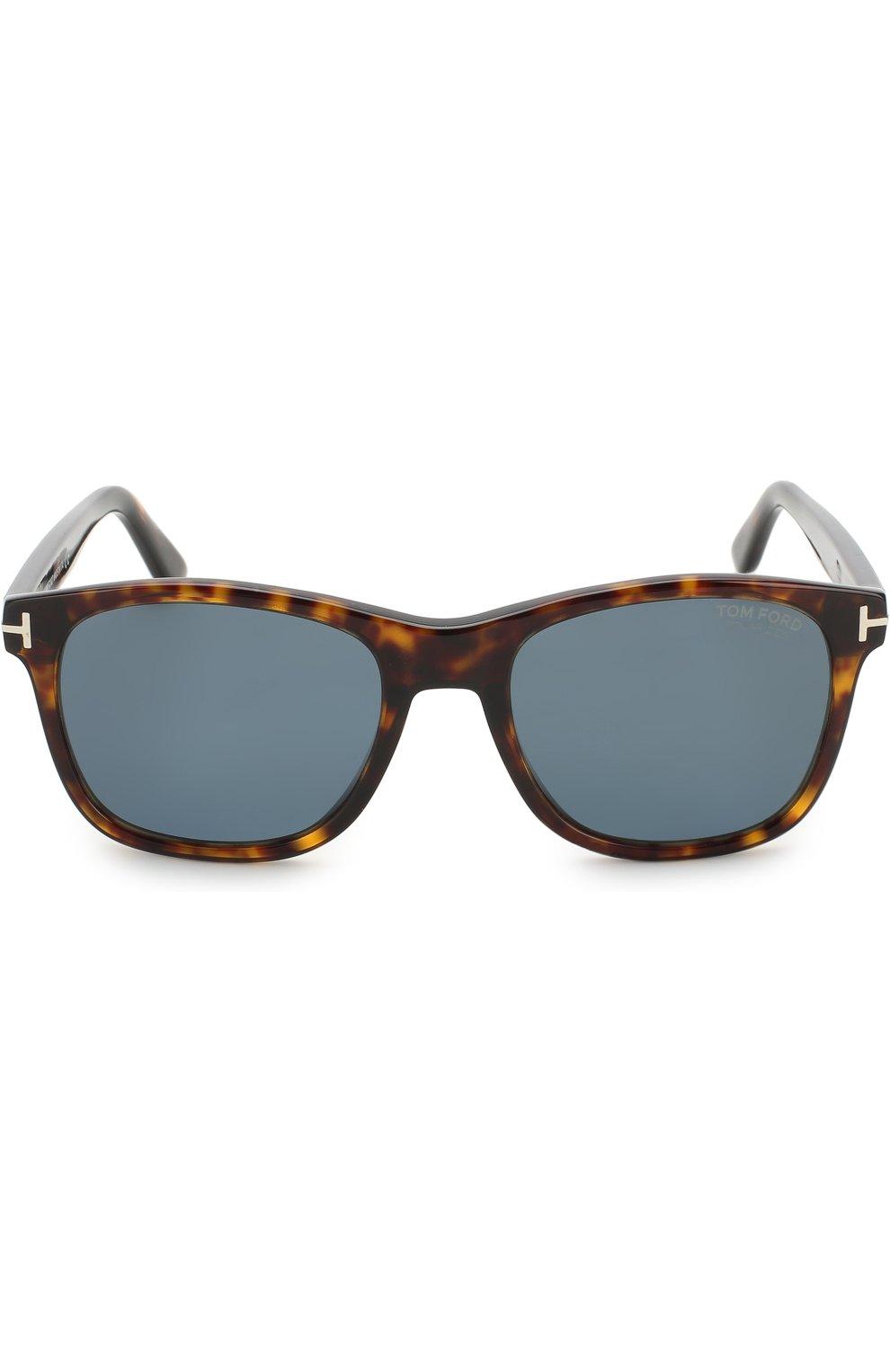 Мужские солнцезащитные очки TOM FORD коричневого цвета, арт. TF595 52D | Фото 2