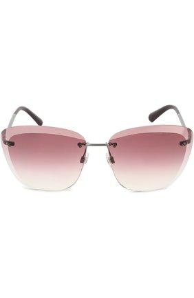 Солнцезащитные очки Chanel розовые   Фото №2