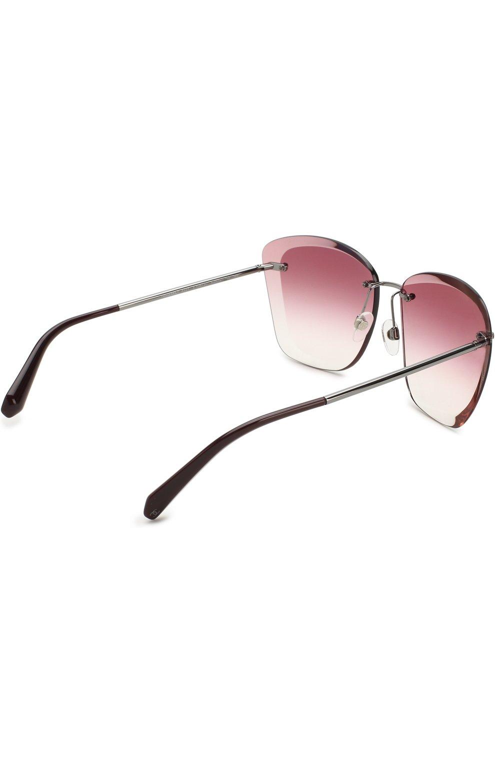 Солнцезащитные очки Chanel розовые   Фото №3