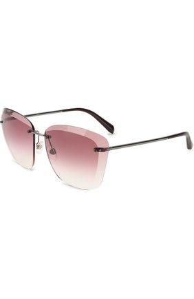 Солнцезащитные очки Chanel розовые | Фото №1